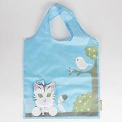 cat foldable shopping bag