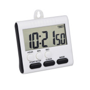 Mudder Magnetic Alarm Digital Kitchen Timer 24 Hours Clock Timer with Stand, Big Screen