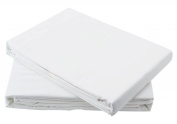 Egyptian Cotton Fitted Sheet 200TC White