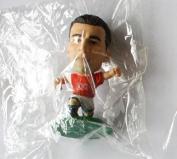 Ryan Giggs MicroStars Series 17 figure - Manchester United Home Kit - Green Base MC11561 - similar to SoccerStarz