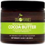 Organic Cocoa Butter By Sky Organics