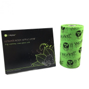 It Works! Ultimate Body Wrap Applicators (4 Count) with Fab Wrap Roll (25m) Bundle