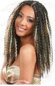 Bobbi Boss Synthetic Hair Braiding Bohemian Curl Braid 1B