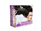 Hair Wrap - Repair Your Hair - Black Cordless Thermal Turban Heat Wrap by Hair Therapy Wrap