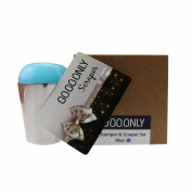 GOGOONLY Nail Art Soft Squishy Silicone XL Jelly Stamper and Scraper Set - Stamping Tools - Blue-BH000588