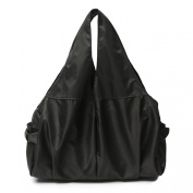 Wrapables Carry-All Tote Nappy Bag, Black