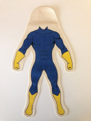 Design Your Own Doll The You Doll Superhero Kit Blue and Yellow Male 30cm