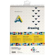 Art Alternatives Spiral Bound Drawing Pad 9x12