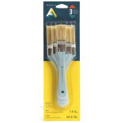 Art Alternatives Utility Brush Set Bristle Short Handle