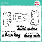 Avery Elle Clear Stamp - Beary Sweet Wishes