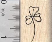 Shamrock Rubber Stamp, Saint Patrick's Day