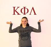 Kappa Phi Lambda Jumbo Letter Decals