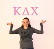 Kappa Delta Chi Jumbo Letter Decals