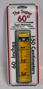 The Super 150cm Tape Measure Yellow Fibreglass 12249