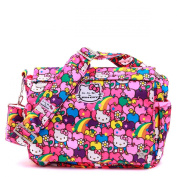 Ju-Ju-Be Better Be Hello Kitty Collection Messenger Style Nappy Bag, Lucky Stars