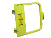 PS DOORS LSG-21-PCY Ladder Safety Gate Mild Carbon Steel, Powder Coat Yellow, Fits Opening 50cm - 60cm , Each