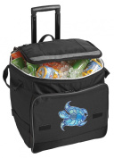 Turtle Rolling Cooler Sea Turtle Insulated Wheeled Bag