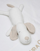 100% Organic Cotton Doggy Baby Toy