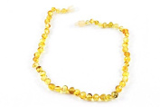Healing Hazel 100% Balticamber Baby Necklace, Coney Polished