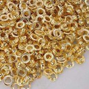 1cm #2 Brass Grommets and Washers 1000 Package
