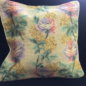 New Royal Collection Handmade Wool Needlepoint Cushion Cover/ Pillow Sham NP806