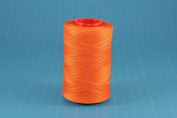25m of ORANGE RITZA 25 Tiger Wax Thread for Leather Hand Sewing 4 Sizes Available