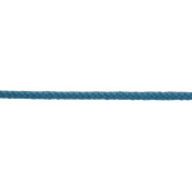 Essential Trimmings ET620/SKY Cotton/Acrylic Braided Cord 30m x 4mm Sky Blue