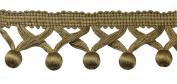 Gold 4.4cm Ball Fringe Style# BBF0175 Colour