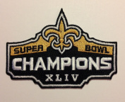 New Orleans Super Bowl Champions Iron on Patch Size:8.9cm X 6.4cm