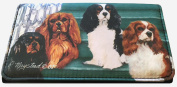 Cavalier King Charles Dog Wallet Designed by Ruth Maystead