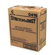 Chicopee Wipe, Industrial Cloth Yellowith Orange Stretch N Dust Towel 23.5X24 -- 100 per case.