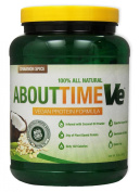 About Time Vegan Protein Supplement Cinnamon Spice 0.9kg
