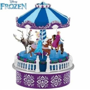 "Mr. Christmas Disney Frozen Animated ""Let It Go"" Musical Carousel #11852BP"
