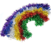 Christmas Xmas Tree Ornament Tinsel Garland Decorations 6 Different Colours