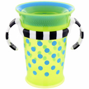 Sassy Grow up Cup No Spill, No Spout Design 210ml - 9 Months, Green