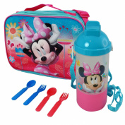 Minnie Mouse Disney Characters Insulated Soft Lunch Set