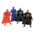 Lot Of 4 Assorted Super Hero Action Figures