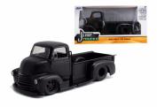 New 1:24 W/B Just Trucks 1952 Meatte Black Chevrolet Coe Pickup Diecast Model Car By Jada Toys
