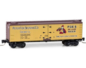 MicroTrains Z 12m Wood Reefer Fox Brewing