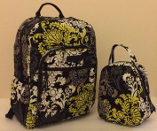 Vera Bradley Campus Backpack and Lunch Bunch in Baroque