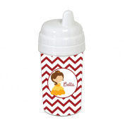 Chevron Belle Princess Sippy Cup