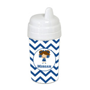 Chevron Cheerleader Sippy Cup