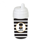 Striped Caped Superhero Sippy Cup