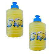 2 Pack - ZAK KIDZ Despicable Me2 Minions Water Jug, Water Bottle 470ml