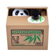 Sunton Cute Stealing Coin Panda Money Box Piggy Bank,