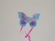 MazaaShop Butterfly Kite 10cm Novelty Toy - Makes A Great Stocking Stuffer, Set of 2