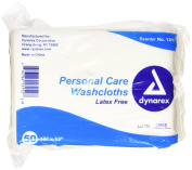 Dynarex Dry Disposable Washcloth, 50 Count