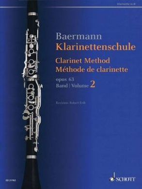 Clarinet Method, Op. 63: Volume 2, Nos. 34-52 - Revised Edition