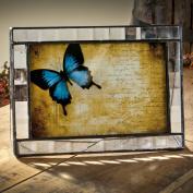 J Devlin 4x6 Horizontal Glass Photo Frame- Cross Reed