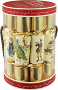 Robin Reed 12 Piece 12 Days of Christmas Crackers 5025